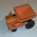 Tri-ang Minic wind up construction dumper vintage toy no key